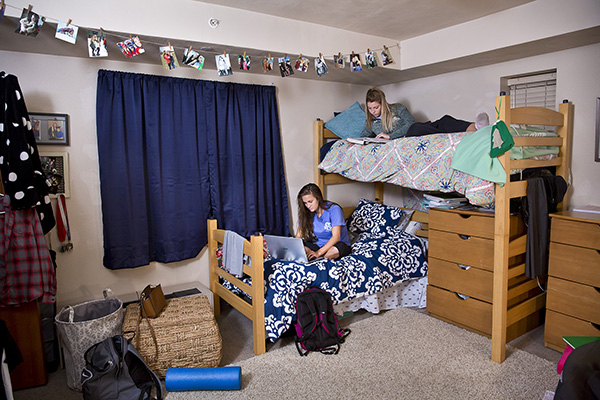 Dorms on the CMU campus